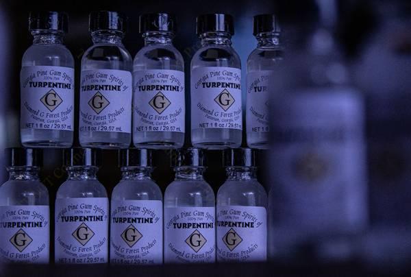 100% Pure Gum Spirits of Turpentine Balsamterpentinöl 10x Fläschchen