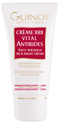 Guinot Crème 888 Vital Antirides Night Creme - 50 ml