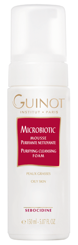 Guinot Microbiotic - Mousse Purifiante Nettoyante - 150 ml