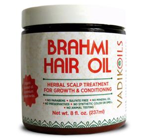 Brahmi Haar Öl Hair Oil Vadik Herbs