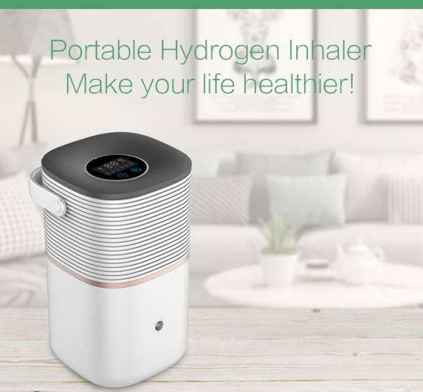 Wasserstoff Hydrogen H2 Inhalator 120 ml/min