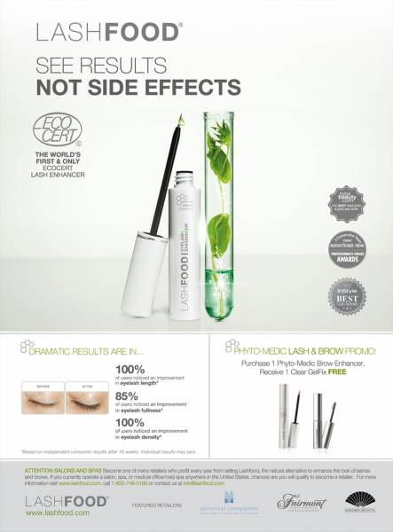 LashFood Phyto-Medic, Natural Premium Wimpernserum Eyelash Enhancer