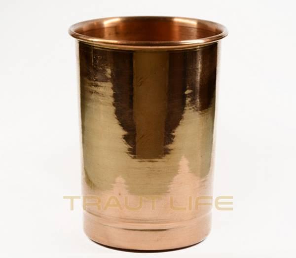 Reines Kupfer Trinkbecher Handgemacht